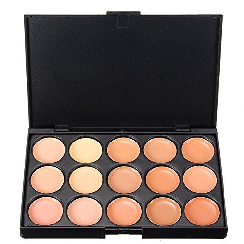 EgBert Palette Anti-Cernes Pour Le Visage Crème De Maquillage Cosmétique De 15 Couleurs