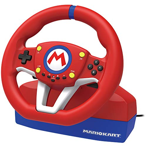 Hori Volante Mario Kart Racing Wheel Pro Mini - Ufficiale Nintendo - Nintendo Switch