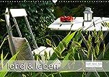 land und leben (Wandkalender 2018 DIN A3 quer): Das Trendthema Landleben im Kalenderformat. (Monatskalender, 14 Seiten ) (CALVENDO Natur) [Kalender] [Apr 01, 2017] Wynands, Alexander