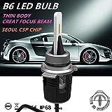 Dland B6 24W 3600Lm Auto Car Led Bulb Lamp Kit, with Turbine Heat Emiting H1 H3 H7 H8 H9 H11 9012 9005 9006 880 881 H4 H13 : 9006/Hb4