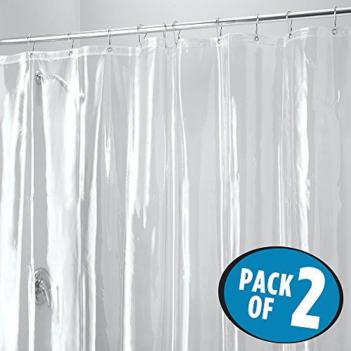 MDesign Juego 2 cortinas baños antimoho – Cortina