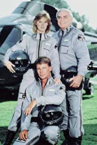 AIRWOLF 24X36 COLOR PHOTO POSTER PRINT