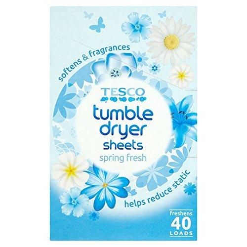 tesco-spring-fresh-tumble-dryer-sheets-40s