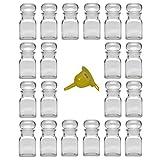 Viva-Haushaltswaren - 20 Gewürzgläser 150 ml