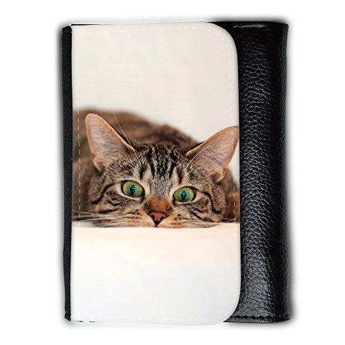 Portemonnaie Geldbörse Brieftasche // V00003891 überrascht Katze 2 // Medium Size Wallet