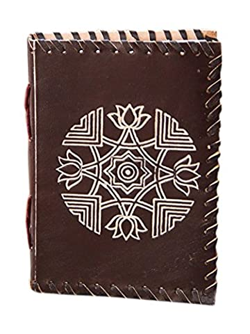 Cyber Monday Deals, Cuir Bound Diary Journal Veritable Voyage Handmade