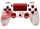 Bloody Splatter Ps4 Rapid Fire Custom Modded Controller 35 Mods COD BO3, Advanced Warfare, Destiny, Ghosts Quick Scope Auto Run Sniper Breath and More by ModdedZone