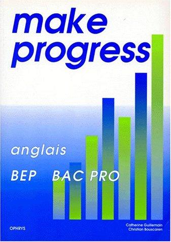 Make progress
