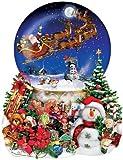 Weihnachtsschlitten (Konturenpuzzle)