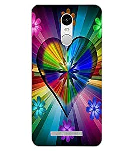 ColourCraft Floral Design Back Case Cover for XIAOMI REDMI NOTE 3 PRO