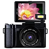 Camcorder Digital Video Camera Full HD 1080P 24.0 Megapixels 4x Digital Zoom Retractable Flash light 3 Inch Screen With UV Lens