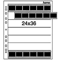 Hama Negativarchivierungshüllen (Pergamin, für je 7 Kleinbild-Streifen à 6 Bilder, 25 St.)