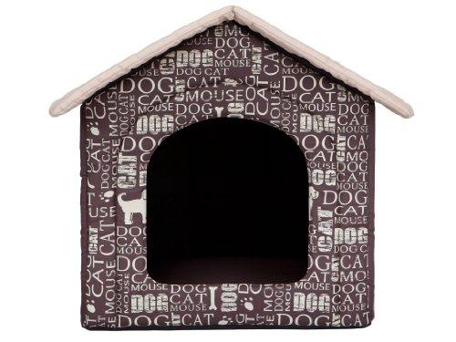 """Hundehöhle """"Wörter"""" Katzenhöhle Hundehütte Hundebett Katzenbett S-XL (M 44x38cm) - 2"""