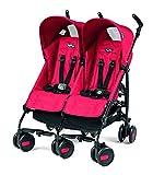 Peg Perego Pliko Mini Twin Baby Stroller, Mod Red by Peg Perego