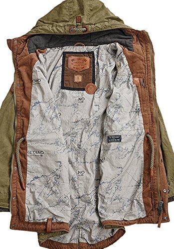 Naketano Male Jacket Kommissar Rizzo desert green