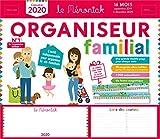 Organiseur familial Mémoniak 2019-2020 - Calendrier sur 16 mois de sept 2019 à dec 2020 : des magnets ultra-solides et une frise Montessori en cadeau !...