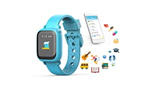 Octopus by JOY Kids Smartwatch teaches good habits and time (Blue)