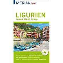 MERIAN live! Reiseführer Ligurien, Cinque Terre, Genua: Mit Extra-Karte zum Herausnehmen