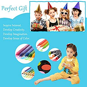 51FZVZR4eyL. SS300  - LIVEHITOP-109-PCS-Artstico-Set-de-Pintura-y-Dibujo-Profesional-Caso-Kit-Colores-Lpices-Acuarela-Rotuladores-Oleo-Pastel-Regalo-para-Nios-Estudiante-Adulto