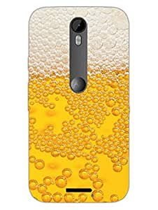 Moto X3 Cases & Covers - Have Some Beer - Burp It Up - Designer Printed Hard Shell Case