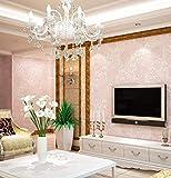 Meaosyy Luxus-Italienische Art-Moderne 3D Geprägte Hintergrund-Tapete Für Wohnzimmer-Schlafzimmer-Blumentapeten-Rolle Desktop-Tapeten