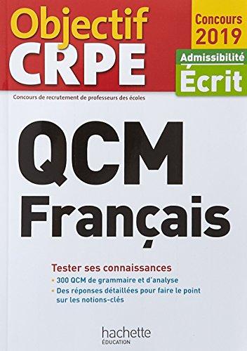 Qcm français : Admissibilité Ecrit