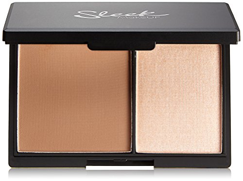 Sleek MakeUP Face Contour Kit Light 14g (Make-up Pinsel Set-braun)