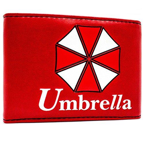 Umbrella Resident Evil Spiel Rot Portemonnaie -
