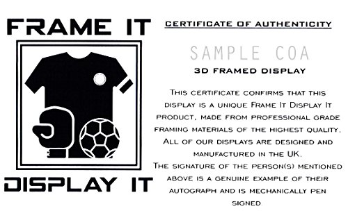 Zlatan Ibrahimovic Inter Milan Signed Shirt 3D Framed Display with ... 2fd720fd5