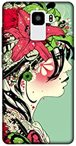 The Racoon Grip printed designer hard back mobile phone case cover for Huawei Honor 7. (Jungle tre)