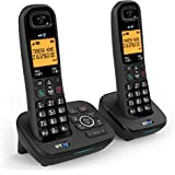 BT 1700 Nuisance Call Blocker Cordless Home Phone with Digital Answer Machine (Twin Handset Pack)