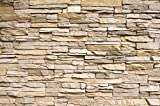 Tapiz de foto Óptica de piedras 3D Mural Decoración Tapices de piedras Muro Decoración de pared Pared de piedras Pizarra Arenisca Muro de piedras Stonewall I foto-mural póster by GREAT ART (210x140 cm)