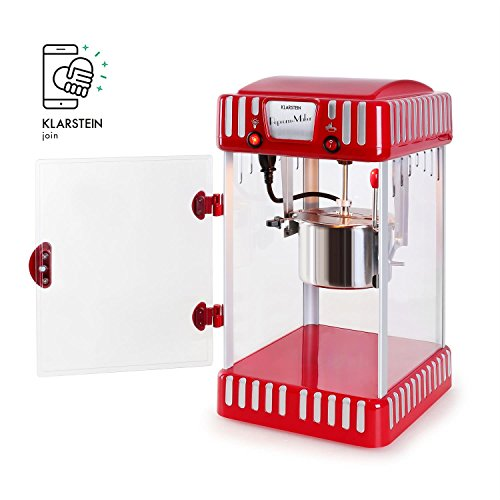 Klarstein Volcano Popcornmaschine Retro-Design mit Innenbeleuchtung - 9