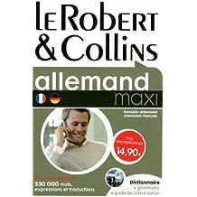 Le Robert & Collins : Dictionnaire français-allemand/allemand-français