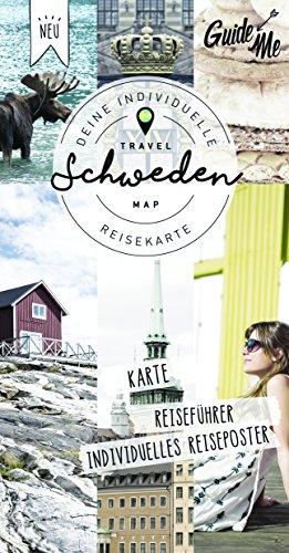 Schweden Guide Me: Deine Individuelle Abenteuerkarte, Karte, Reiseführer, Individuelles Reiseposter (Hallwag Strassenkarten) (Landkarte Schweden)