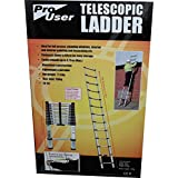 Pro User 3.75m Telescopic Ladder