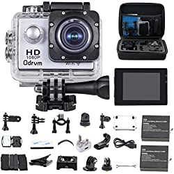 ODRVM OD4200 Full HD Sports & Action s Camcorder (Silver)