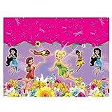 Kunststoff Disney Fairies Springtime Tischdecke, 1,8m x 1,2m