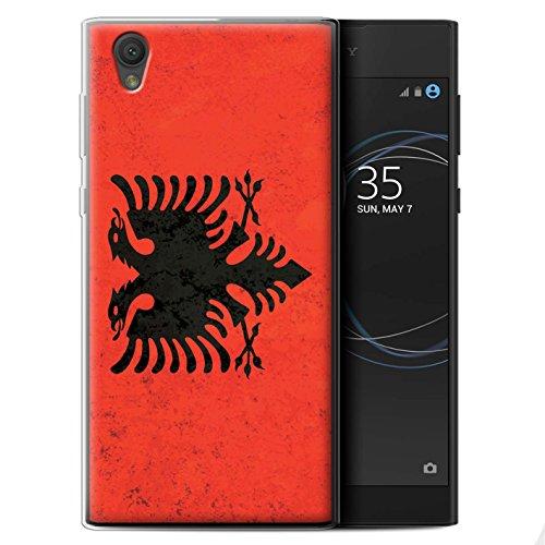 lle/Case für Sony Xperia L1 / Albanien/Albanisch Muster/Flagge Kollektion ()