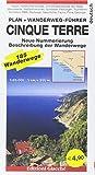 Cinque terre. Plan + Wanderweg-Führer. 185 Wanderwege, Maßtab 1:25.000