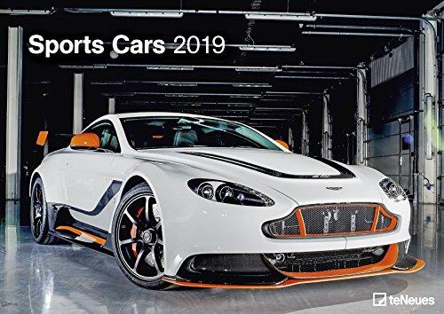 Sports Cars 2019 - Autokalender, Motorsportkalender, Fotokalender - 29,7 x 42 cm (Sport-auto-kalender)