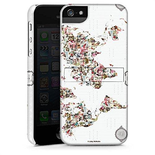 Apple iPhone X Silikon Hülle Case Schutzhülle Bunte Welt Muster Blumen Tiere Premium Case StandUp