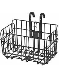 Canasta de bicicletas de alambre portátil Cesta delantera y trasera plegable ideal para almacenaje de equitación