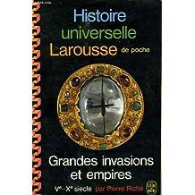 Grandes invasions et empires. v -x siecle