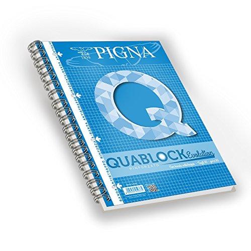 Pigna Quablock Evolution 5 Quaderni a Quadretti