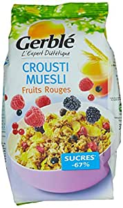 Gerblé Muesli Crousti aux Fruits Rouges 375 g