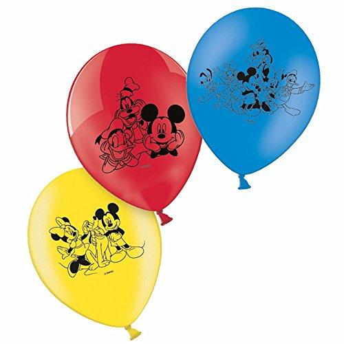 Micky Maus - Kinder Geburtstag Ballons Luftballons Mickey Mouse 6 Stück