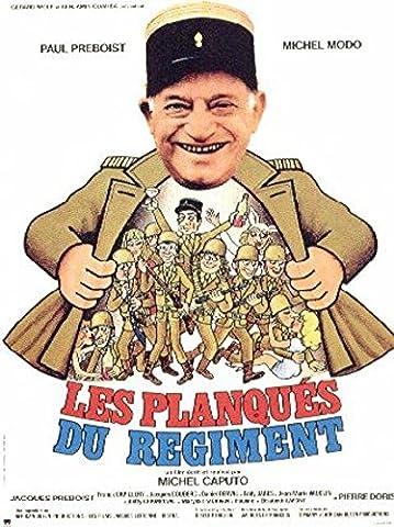 Les Planqués Du Régiment - Paul Preboist - 116X158Cm Affiche Cinema Originale