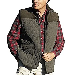 Mens Champion Country Clothing Arundel Fleece Lined BodyWarmer Gilet Olive L