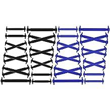 Joyshare No Tie Lacci per Scarpe per Bambini e Adulti - Impermeabile in Silicone  Elastico Piatto bb9c962d8e8